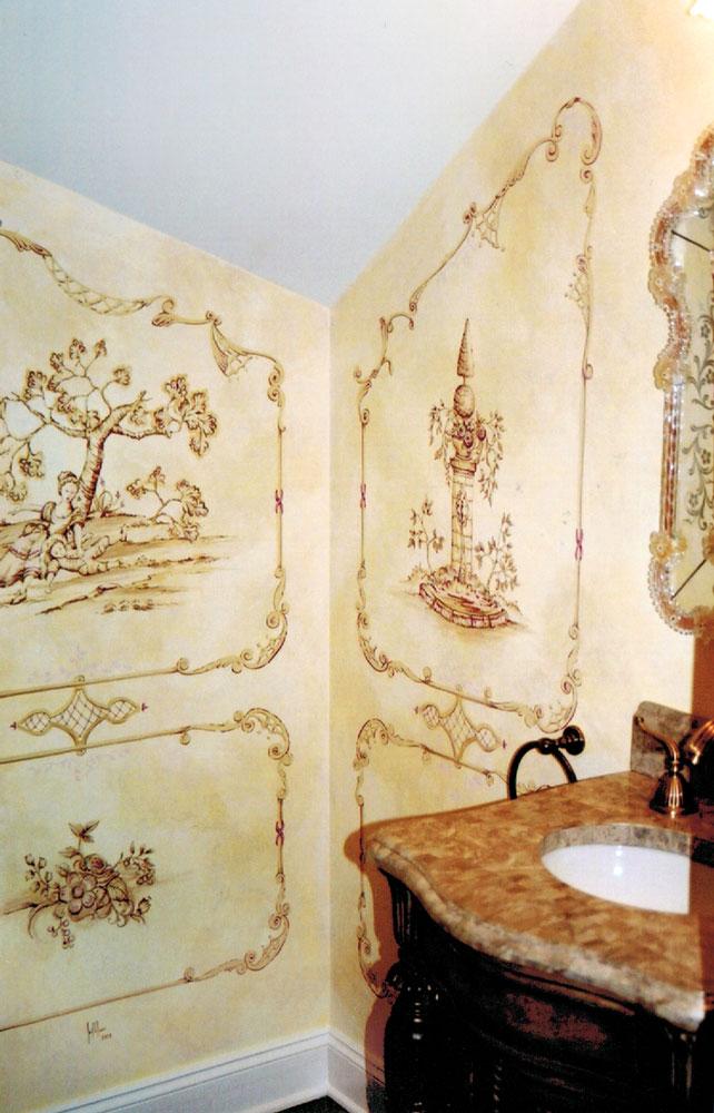 Custom Decorative Wall Painting - NJ | Jonathan Hress Design